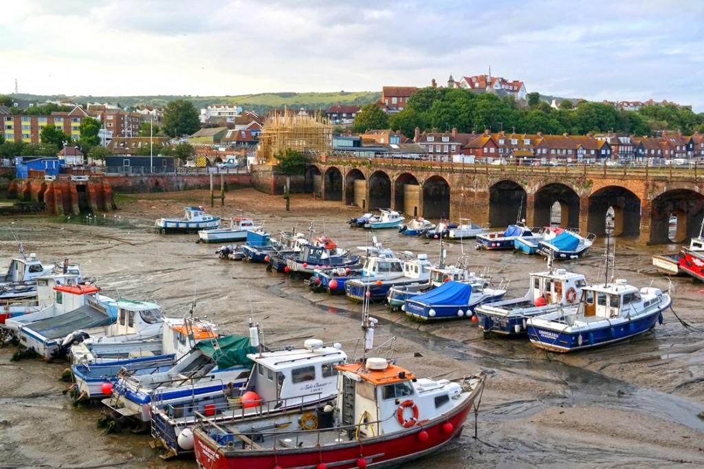 Folkestone_boats